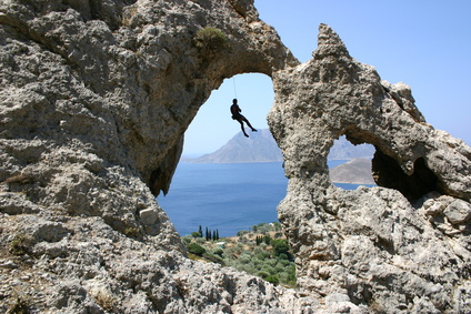 Climbing on Kalymnos