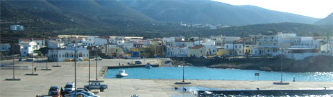 Fri - the Port and Capital of Kasos