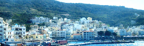Pigadia - the capital and port of Karpathos
